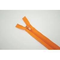 """Молния пластиковая спиральная от """"Blitz"""" разъёмная однозамковая оранжевая 70 см G16 05052107"""