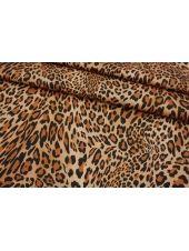 Хлопок-стрейч костюмно-плательный леопард MII-C60 07082133