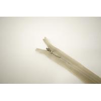Молния потайная светлая бежево-оливковая 35 см YKK E17 16092110