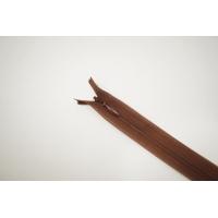 Молния потайная коричневая 45 см YKK E17 16092119