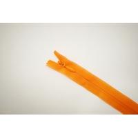 Молния потайная оранжевая 36см YKK E18 16092123