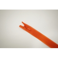 Молния потайная оранжеваяя 27 см YKK E18 16092147