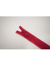 Молния потайная красная 11 см YKK 16092149