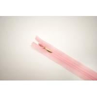 Молния потайная нежно-розовая 16 см YKK E19 16092161