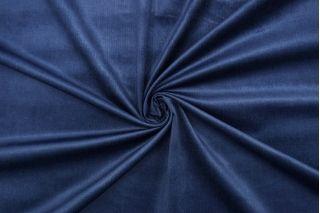 Вельвет плательный синий Forte Forte TRC-K60 12072120