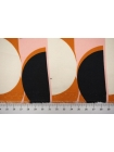 Поплин рубашечный геометрия каймовый-A40 12072124