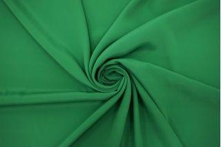 Крепдешин тонкий ярко-зеленый TRC-N50 12072127