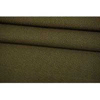 Хлопок костюмный зеленый хаки Thom Browne TRC-B10 12072130