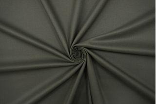 Костюмно-плательная поливискоза зеленовато-серая TRC 12072131