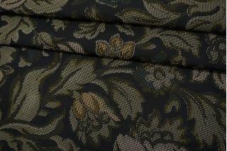 Жаккард цветы зеленые TRC-G60 12072138