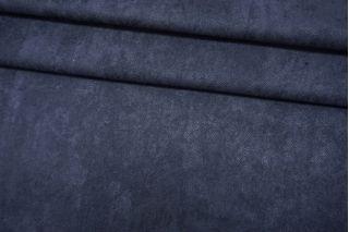 Велюр вискозный приглушенно-синий BRS 12072141