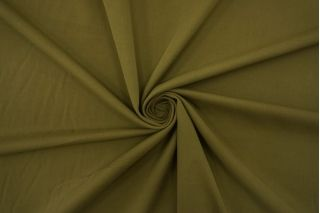 Хлопок костюмный диагональный зеленый хаки TRC-D20 12072144