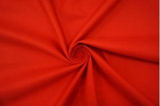 Хлопок костюмный диагональный красный BRS 12072151