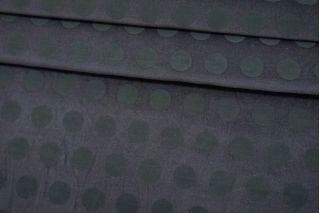 Велюр хлопковый серый в горошек TRC 12072153