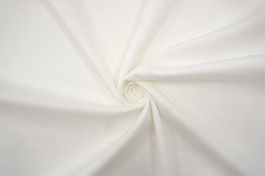 ОТРЕЗ 2,8 М Хлопок плательный молочно-белый BRS-(15)- 12072162-1