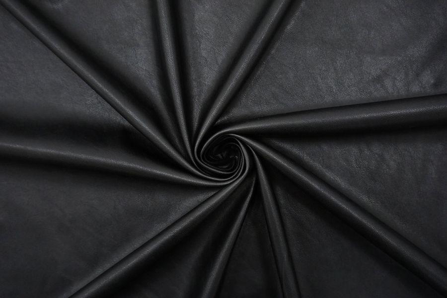 Экокожа на замше черная NST-F50 12072166