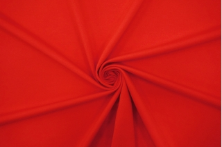 Джерси вискозный ярко-красный TRC-Y30 12072175
