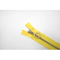 Молния металлическая YKK желтая 9 см C15 14072440