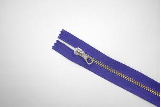 """Молния металлическая """"Lampo"""" фиолетово-синяя 57 см C15 14072472"""