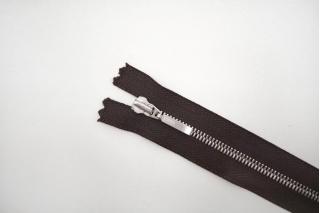 Молния металлическая YKK темно-коричневая 20 см C15 14072480