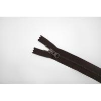 Молния металлическая YKK темно-коричневая 19 см C14 14072485