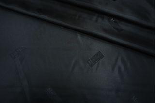 Подкладочная ткань черно-синяя Max Mara FRM 19072101