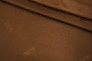 Подкладочная ткань коричневая Max Mara FRM 19072107