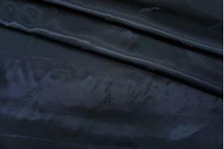 Подкладочная ткань атласная темно-синяя Max Mara FRM-АА70 19072108