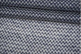 Трикотаж льняной сине-белый Thom Browne TRC-O60 19072115