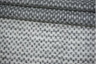 Трикотаж льняной серо-белый Thom Browne TRC-O60 19072116