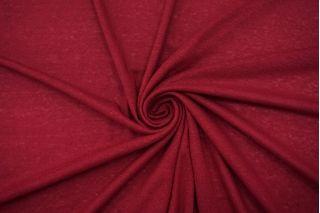 Трикотаж льняной темно-ягодный TRC.H-O40 19072126