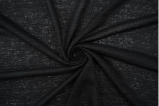 Трикотаж льняной черный Forte Forte TRC-O70 19072135