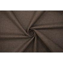Костюмная шерстяная фланель дымчато-коричневая BRS-U50 26072142