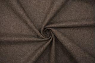 Костюмная шерстяная фланель дымчато-коричневая BRS-DD40 26072142