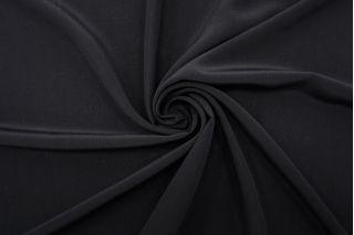 Крепдешин тонкий черный FRM-N60 02062118