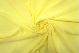 Крепдешин тонкий лимонный FRM-N60 02062119