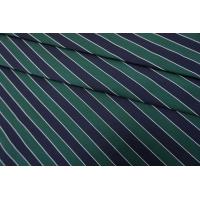 Репс костюмный в полоску сине-зеленый SVR.H-M30 03052134