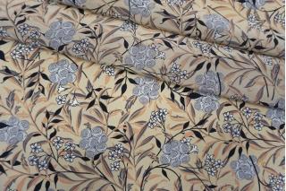 Крепдешин тонкий цветы FRM-N40 03052137
