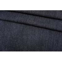 ОТРЕЗ 1,9 М Джинса плотная черно-синяя TRC-(11)- 30052119-1