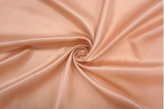 Подкладочный атлас персиковый FRM-AA40 13052116