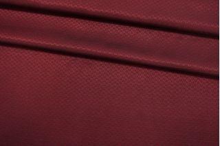 Подкладочная ткань красно-черная с орнаментом FRM-AA50 13052132