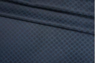 Подкладочная ткань темная сине-бирюзовая орнамент Corneliani FRM-Z16 13052134