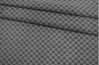 Подкладочная ткань темная черно-серая орнамент Corneliani FRM-Z16 13052135