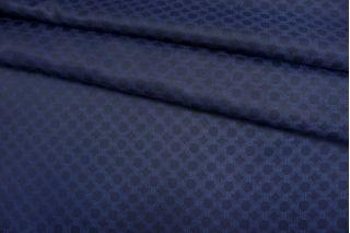 Подкладочная ткань темно-синяя орнамент Corneliani FRM-Z16 13052136