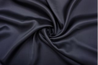 Подкладочная ткань иссиня-черного цвета FRM-AA20 13052144
