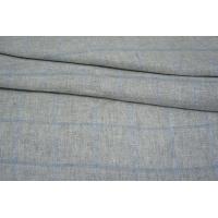 Лен серый в голубую клетку Max Mara SVM.H-E50 15052101
