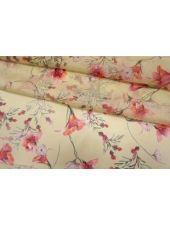 Шифон шелковый цветы Max Mara SVM-O60 24052107