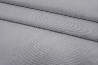 Хлопок рубашечный в полоску бело-серый SMF-A70 24052149
