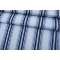 Хлопок рубашечный в полоску сине-голубой SMF-A70 24052150