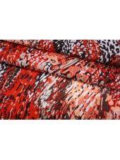 Батист разноцветный красно-розовый SMF-A40 24052159
